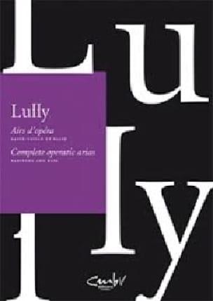 Airs d'opéras pour basse-taile et basse - LULLY - laflutedepan.com