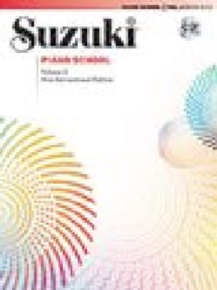 Suzuki - Suzuki Piano School New International Edition Volume 2 CD - Partition - di-arezzo.co.uk