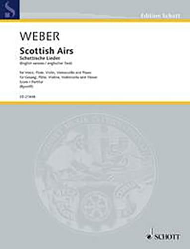Scottish airs WeV U. 16 - Carl Maria von Weber - laflutedepan.com