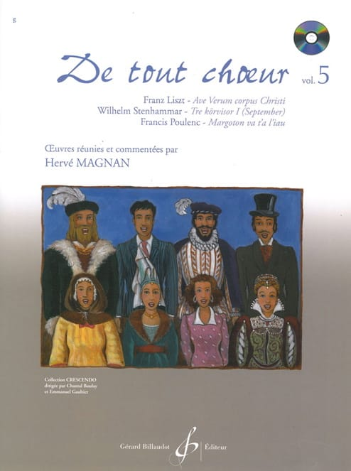 Hervé Magnan - From any choir Volume 5 - Partition - di-arezzo.co.uk