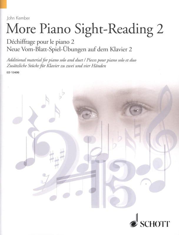John Kember - More Piano Sight-Reading. Volume 2 - Partition - di-arezzo.co.uk
