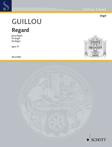 Regard op. 77 - Jean Guillou - Partition - Orgue - laflutedepan.com
