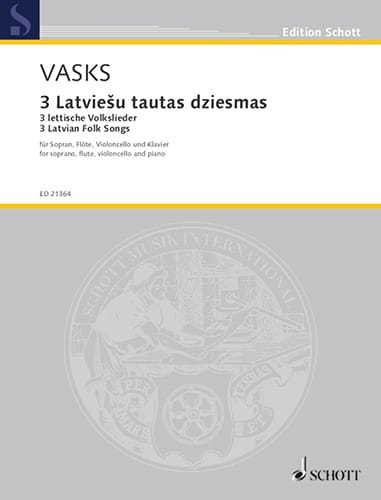 3 Latvian lettische folk songs volkslieder - laflutedepan.com