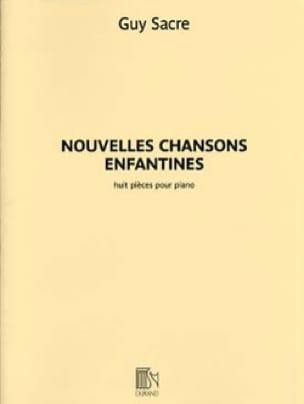 Nouvelles chansons enfantines - Guy Sacre - laflutedepan.com