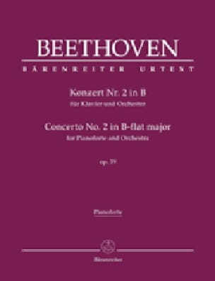 Concerto Pour Piano n° 2 op. 19 En Si Bémol Majeur - laflutedepan.com