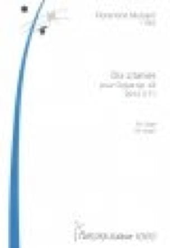 10 Litanies op. 43 - Florentine Mulsant - Partition - laflutedepan.com