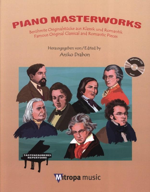 Piano masterworks + CD - Partition - Piano - laflutedepan.com