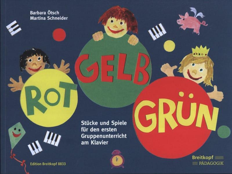 Rot - Gelb - Grün - laflutedepan.com