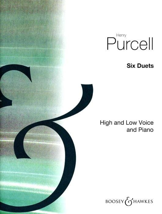 Henry Purcell - 6 Duets - Partition - di-arezzo.com