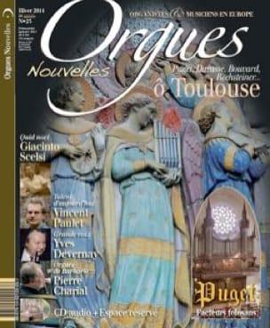 Orgues Nouvelles n° 23 avec CD - Livre - Revues - laflutedepan.com