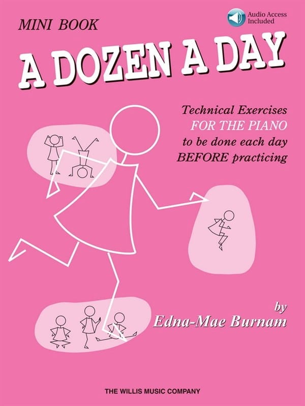 A dozen a Day - MINI BOOK - Partition - Piano - laflutedepan.com