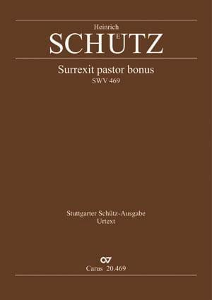 Surrexit pastor bonus. Swv 469 - SCHUTZ - Partition - laflutedepan.com