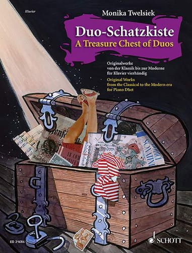 Duo - Schatzkiste - Partition - Piano - laflutedepan.com