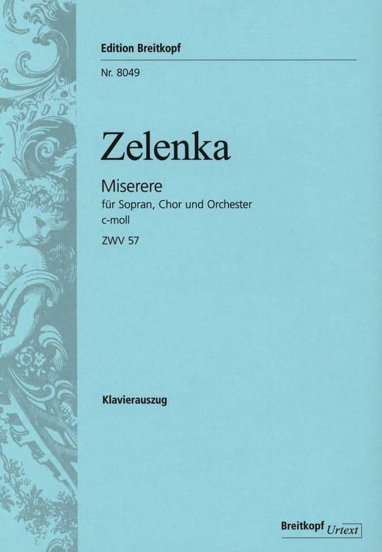 Jan Dismas Zelenka - Cの未成年者マイナー - Partition - di-arezzo.jp