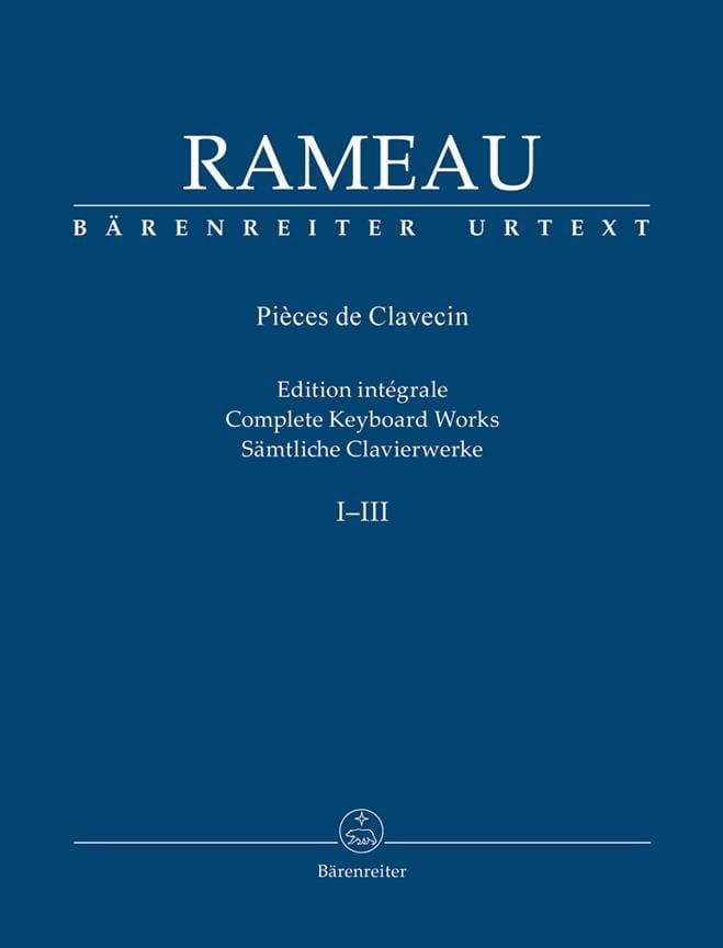 Jean-Philippe Rameau - Keyboard artwork - Partition - di-arezzo.co.uk