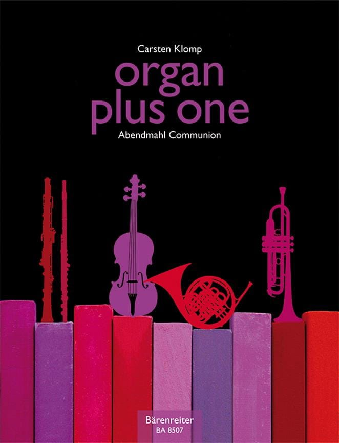 Carsten Klomp - Organ plus one. Communion - Partition - di-arezzo.co.uk