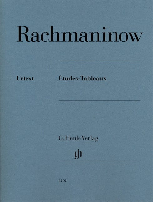 RACHMANINOV - Etudes-tableaux Opus 33, 39 - Partition - di-arezzo.co.uk