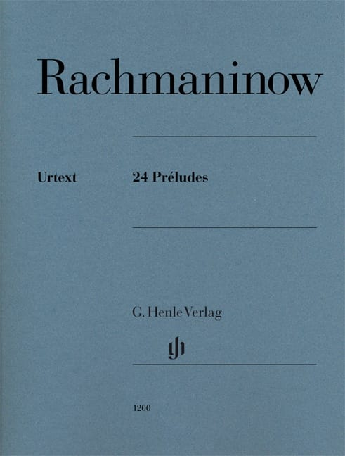 RACHMANINOV - 24 preludes - Partition - di-arezzo.co.uk