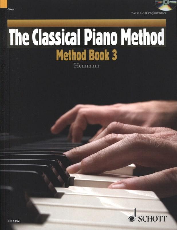 Méthode de piano Volume 3 - Hans-Günter Heumann - laflutedepan.com
