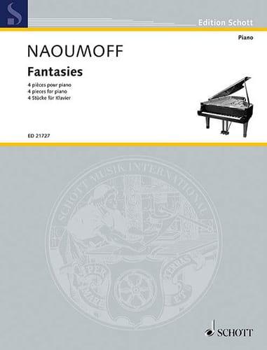 Fantasies - Emile Naoumoff - Partition - Piano - laflutedepan.com