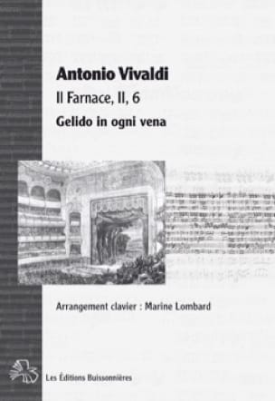 VIVALDI - Gelido in ogni vena. It's Farnace - Partition - di-arezzo.co.uk