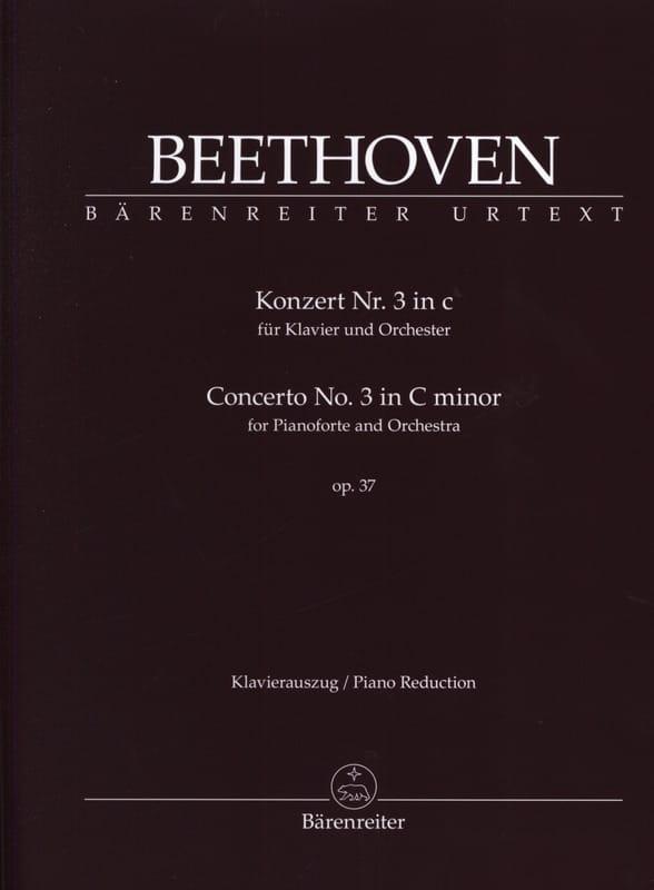BEETHOVEN - Concierto para piano n.º 3 op. 37 en Do menor - Partition - di-arezzo.es