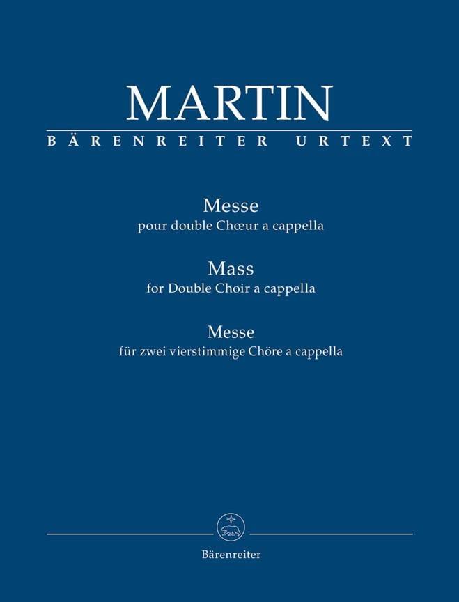 Frank Martin - Messe - Partition - di-arezzo.fr