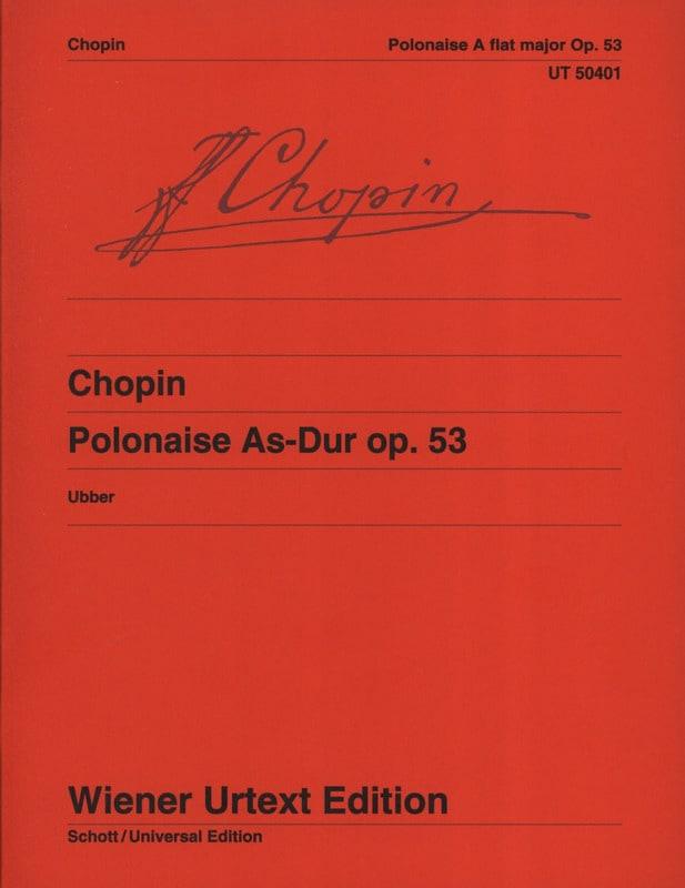 Polonaise op. 53. - CHOPIN - Partition - Piano - laflutedepan.com