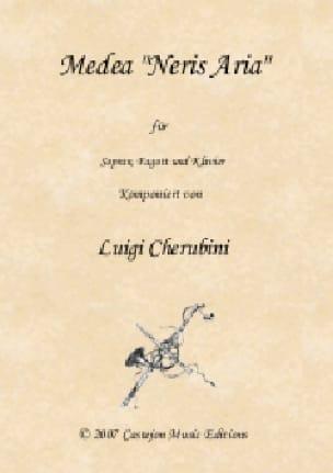 Neris aria. Médée - CHERUBINI - Partition - Basson - laflutedepan.com
