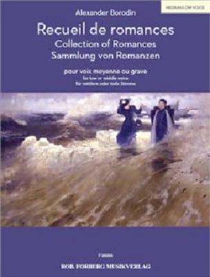 Romances - BORODINE - Partition - Mélodies - laflutedepan.com