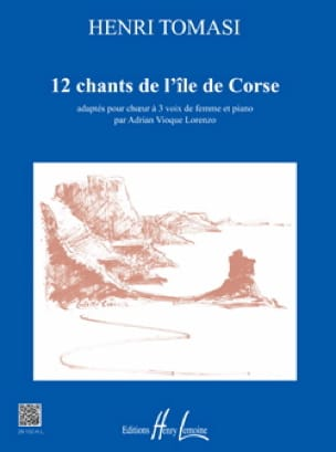 Henri Tomasi - 12 songs from the island of Corsica - Partition - di-arezzo.co.uk