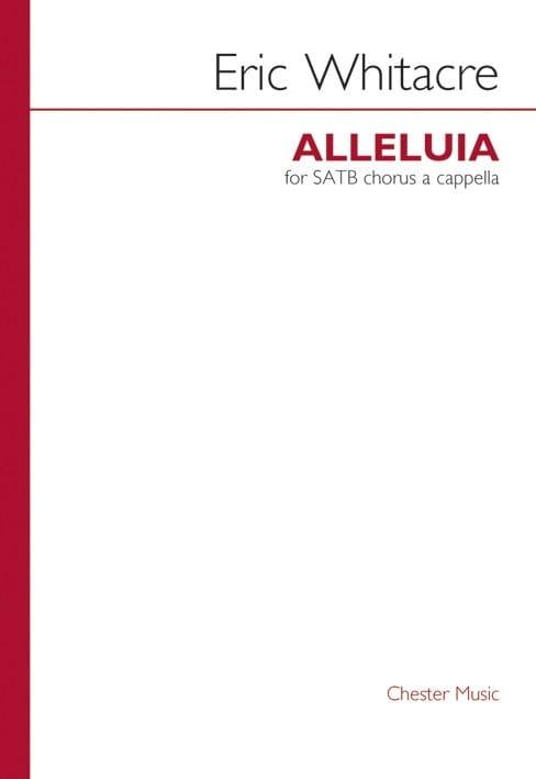 Allelluia - Eric Whitacre - Partition - Chœur - laflutedepan.com