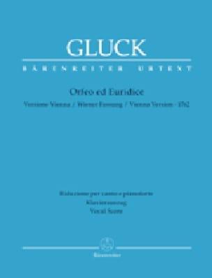 GLUCK - Orpheus and Eurydice Urtext - Partition - di-arezzo.co.uk