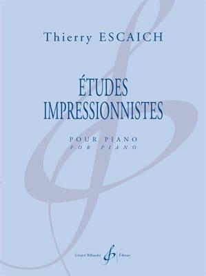 Thierry Escaich - Impressionist studies - Partition - di-arezzo.co.uk