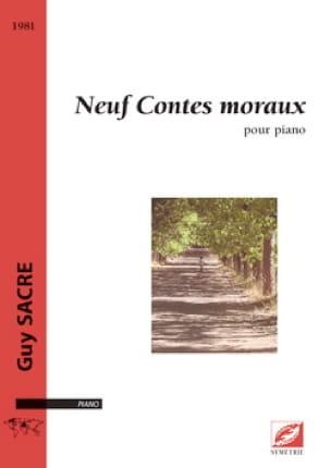 9 Contes moraux - Guy Sacre - Partition - Piano - laflutedepan.com