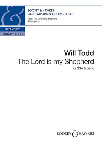 Will Todd - The Lord is my shepherd - Partition - di-arezzo.fr
