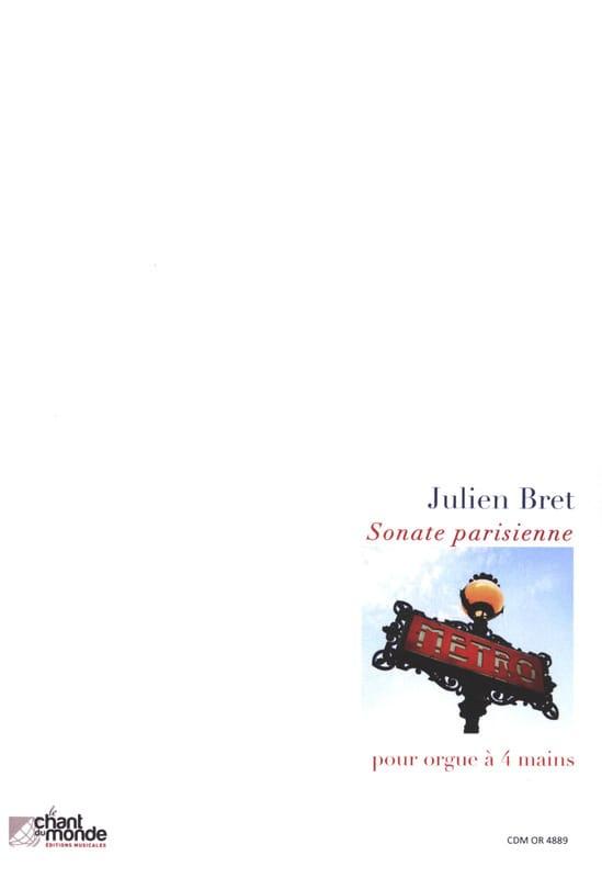 Sonate parisienne - Julien Bret - Partition - Orgue - laflutedepan.com