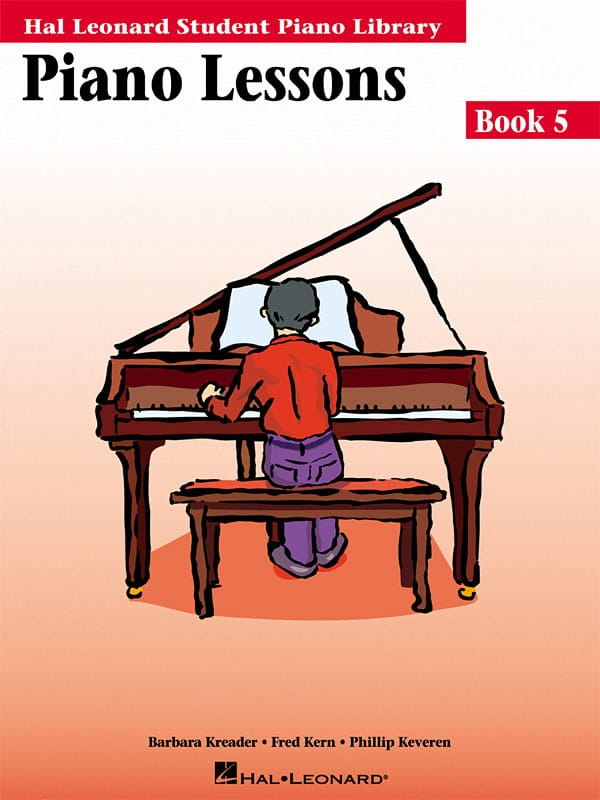 Piano lessons Book 5 - laflutedepan.com