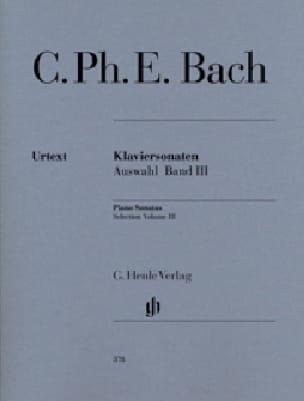 Sonates choisies pour piano Volume 3 - laflutedepan.com