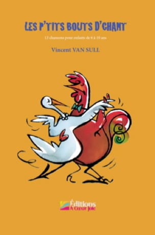 Sull Vincent Van - The little pieces of singing with CD - Partition - di-arezzo.co.uk