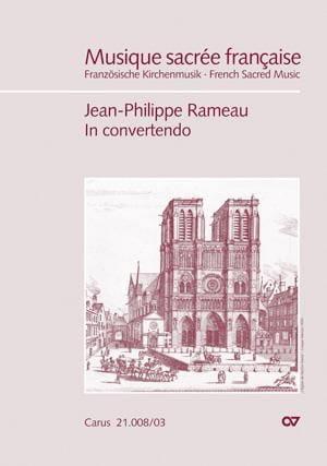 Jean-Philippe Rameau - In convertendo - Partition - di-arezzo.fr