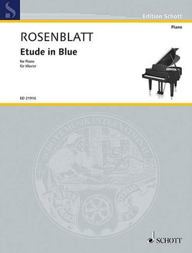 Etude in blue - Alexander Rosenblatt - Partition - laflutedepan.com