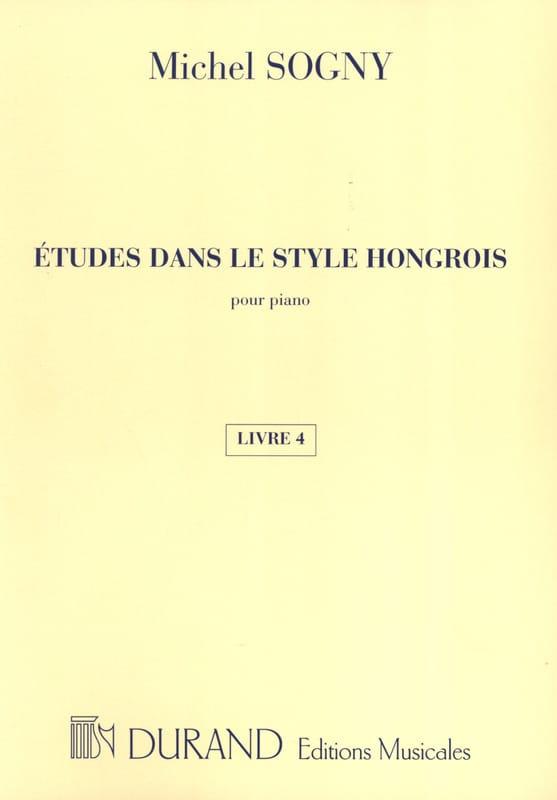 Etudes Dans le Style Hongrois Livre 4 - laflutedepan.com