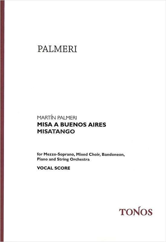 Misa a Buenos Aires. Choeur seul - Martin Palmeri - laflutedepan.com