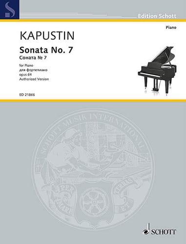 Sonate pour Piano n° 7 Opus 64 - Nikolai Kapustin - laflutedepan.com