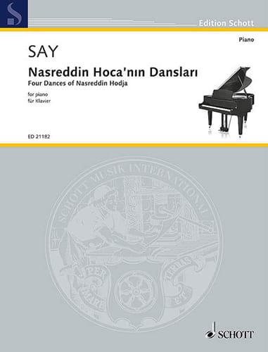 Fazil Say - Nasreddin Hoca'nin inlari - Partition - di-arezzo.co.uk