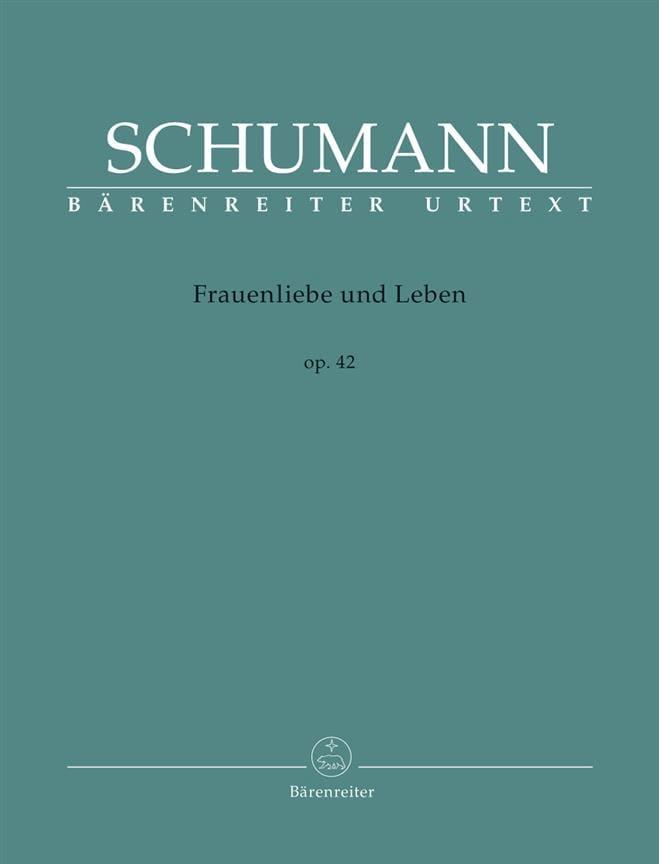 SCHUMANN - Frauenliebe Und Leben Opus 42 - Partition - di-arezzo.com