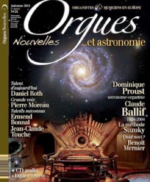 Orgues nouvelles n° 26. Automne 2014 - Livre - laflutedepan.com