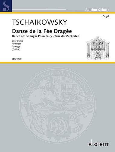 Danse de la Fée dragée - TCHAIKOVSKY - Partition - laflutedepan.com