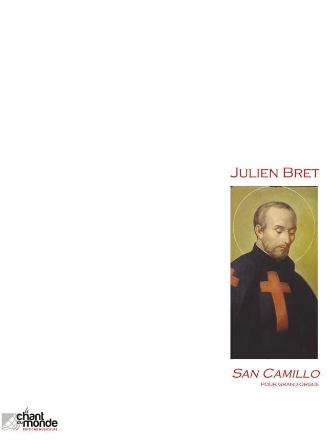 San Camillo - Julien Bret - Partition - Orgue - laflutedepan.com